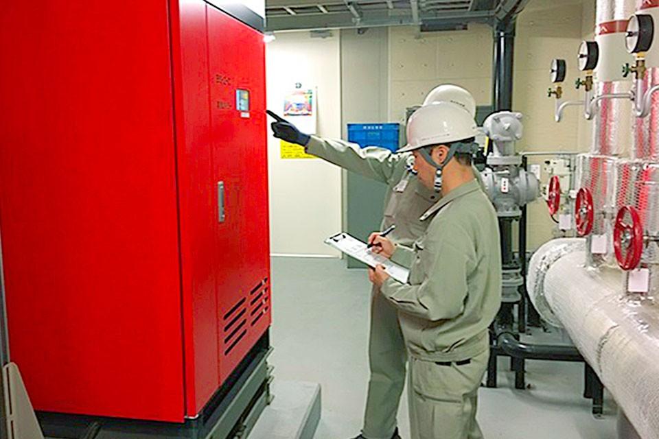 常駐設備メンテナンス業務